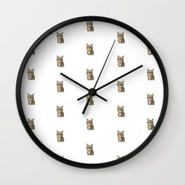 Polka Cat Original Wall Clock
