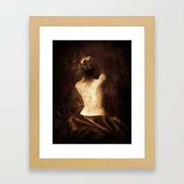 Juliette. Portrait. Framed Art Print