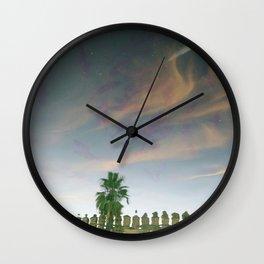 Flying sky fish Wall Clock