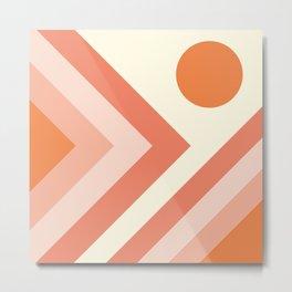 Abstract geometric background #society6 #decor #buyart #artprint Metal Print