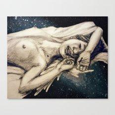 Spaced Canvas Print
