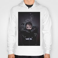 cigarettes Hoodies featuring Black Coffee and Cigarettes  by Karah Robinson- Art