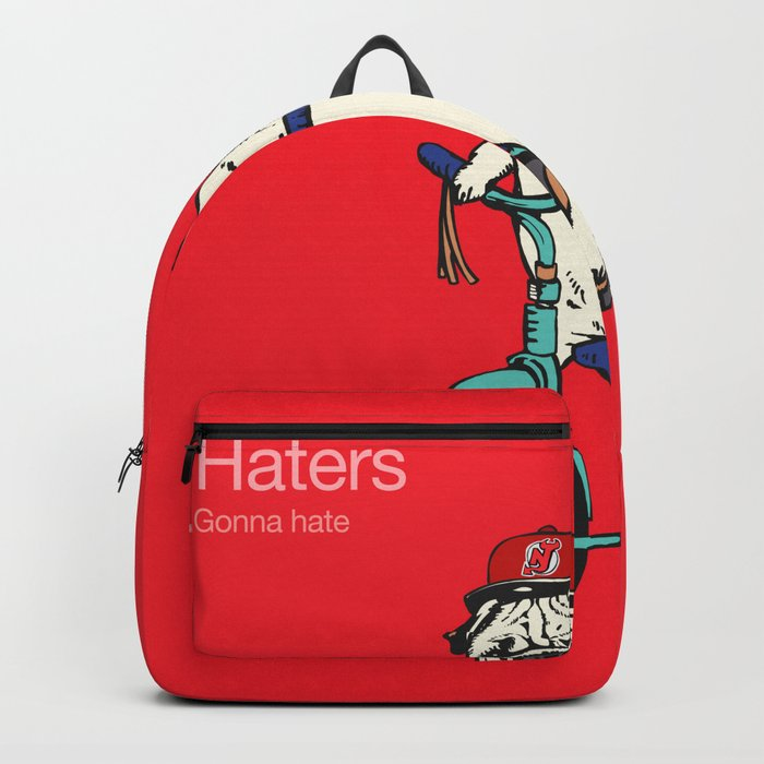 Haters gonna hate NJ Backpack