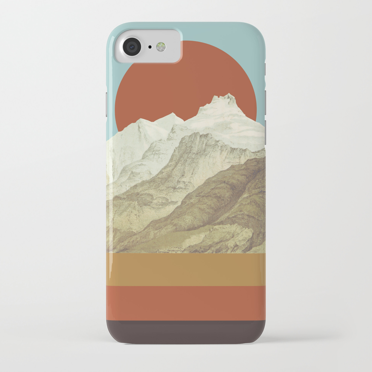 Mtn Iphone Case By Zeketucker Society6
