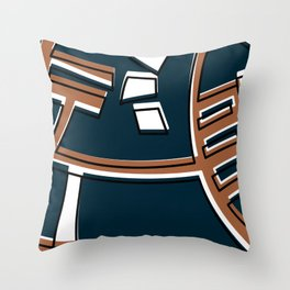 Talleres Facultad de Ciencias -Detail- Throw Pillow