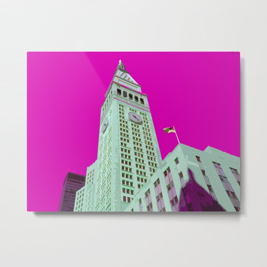 NY#5 Madison Ave Metal Print