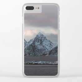 Svolvaer Clear iPhone Case