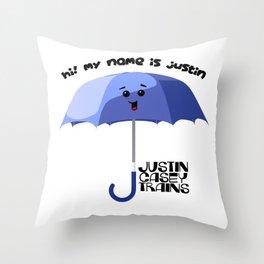 justin casey Throw Pillow