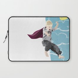 The man who has no imagination has no wings. Laptop Sleeve
