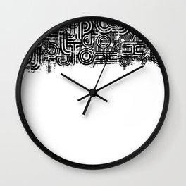 Disorganized Speech #1 Wall Clock