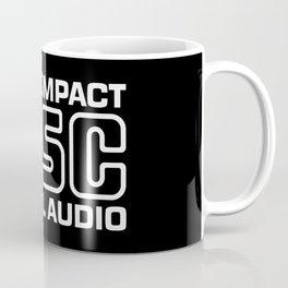 Compact Disk Digital Audio Logo - White Coffee Mug