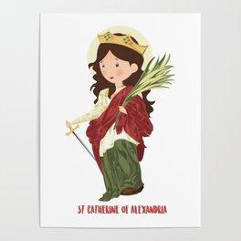 S.t. Catherine of Alexandria Poster