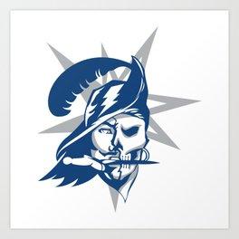 2017 Tampa Bay Sports Teams Logo V.2 Art Print