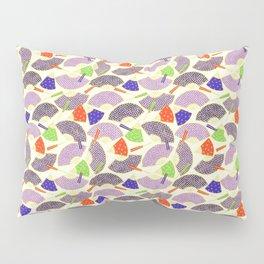 vintage oriental fans pattern Pillow Sham