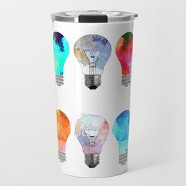Light Bulbs Travel Mug