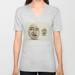 DALI #EGGS Unisex V-Neck