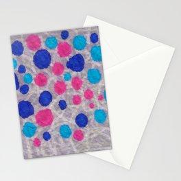 ink napkin polkadots Stationery Cards