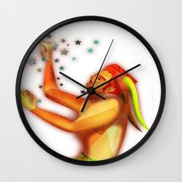 Capricorn sign Wall Clock