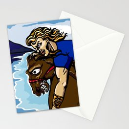 Alexander the Great w/ Bucephalus Horse Stationery Cards