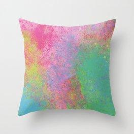 Crayon Corner Throw Pillow