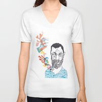 matisse V-neck T-shirts featuring Matisse by Le Hello