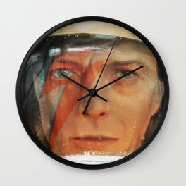 Bowie - The Man Who Fell to Earth Wall Clock