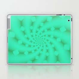 Tess Fractal in Honeydew Laptop & iPad Skin