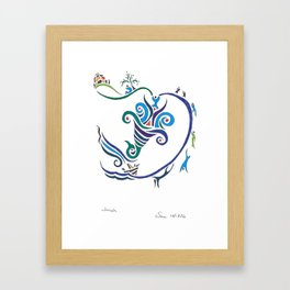 Jonah Framed Art Print