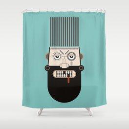 Starkad B Shower Curtain