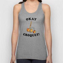 Okey Croquet Unisex Tank Top