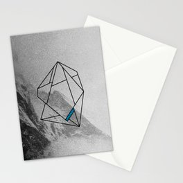 die, manned.  Stationery Cards