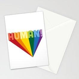 I am still human Stationery Cards