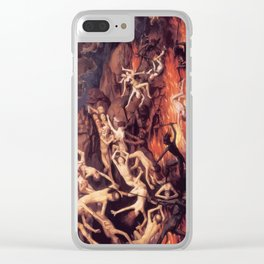 Last Judgement Clear iPhone Case