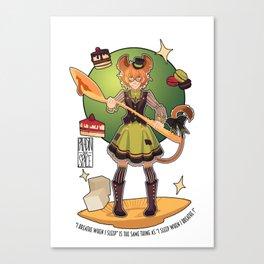 Dormouse Pidge Canvas Print