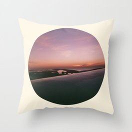 sunrise over new york Throw Pillow