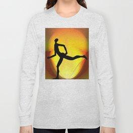 Sprinting Man Long Sleeve T-shirt