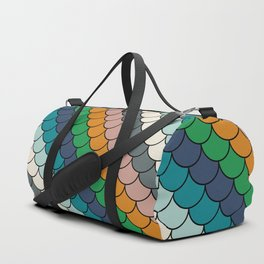 Colorful scales pattern I Duffle Bag