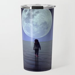 Moon alk Travel Mug