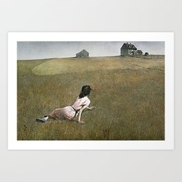 Christina's World - Andrew Wyeth Art Print