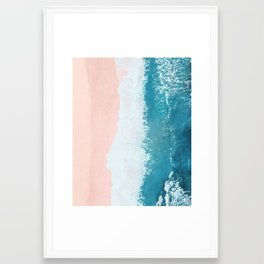 just beachy Framed Art Print