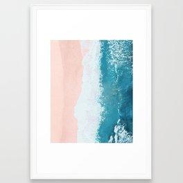 just beachy Framed Art Print
