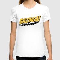bazinga T-shirts featuring Bazinga by Maxx Hendriks