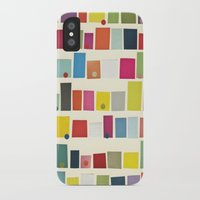 city iPhone & iPod Cases featuring City by Cassia Beck