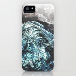 Wavey Mountains iPhone Case