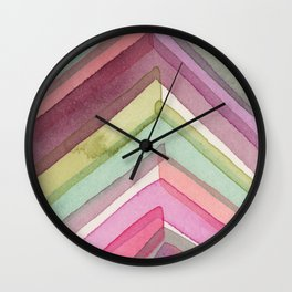 Pivot in Dahlia Garden Wall Clock