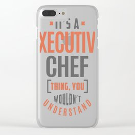 Executive-Chef Clear iPhone Case