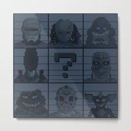 Select your character Metal Print