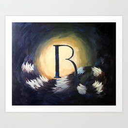 R is For... Art Print