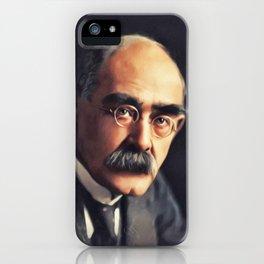 Rudyard Kipling, Literary Legend iPhone Case