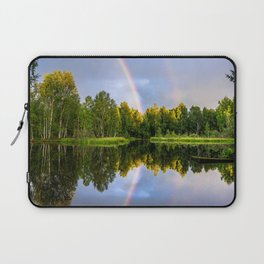 Rainbows: The gift from heaven to us all Laptop Sleeve